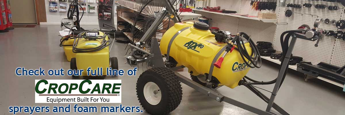 CropCare Sprayers in stock